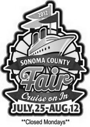 Sonoma County Fair 2012 logo