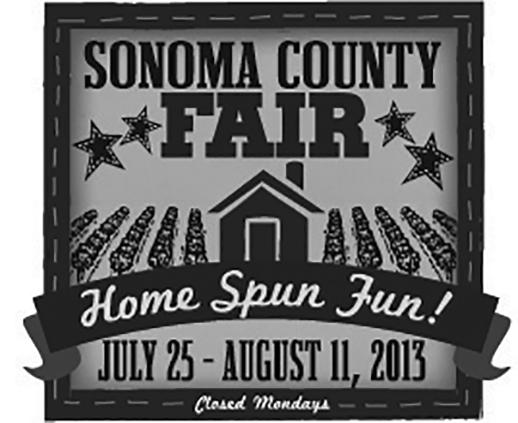 Sonoma County Fair 2013 logo