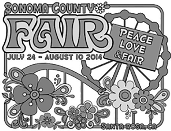 Sonoma County Fair 2014 logo